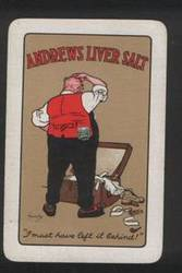 Advertising Playing Cards Andrews Liver Salts