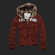 $49Hollister women Jacket, cheap Abercrombie and Fitch Women Fur Fleece