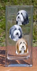 How to print custom designs onto glass