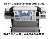 Fix HP DesignJet Printer Error 61:05